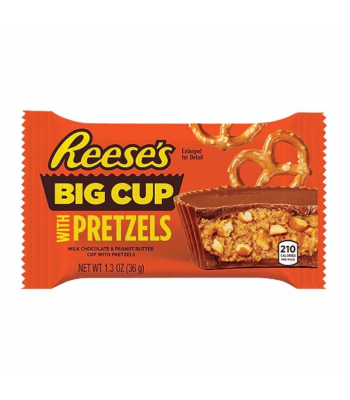 Reese's Big Cup Stuffed with Pretzels - 1.3oz (36g) Sweets and Candy Reese's