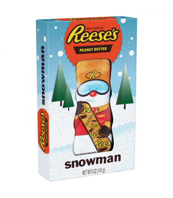 Reese's Peanut Butter Snowman - 5oz (141g) [Christmas] Sweets and Candy Reese's