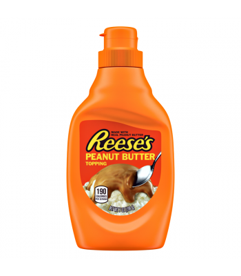 Reese's Peanut Butter Topping - 7oz (198g) Food and Groceries Reese's