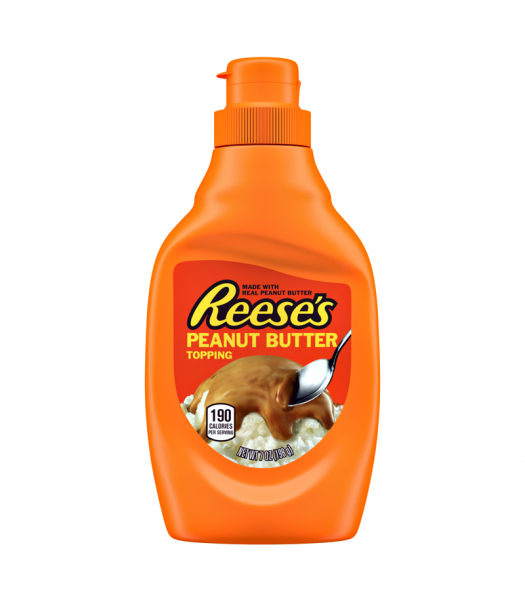 Reese's Peanut Butter Topping 7oz (198g) Food and Groceries Reese's