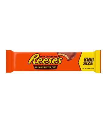 Reese's Peanut Butter 4 Cup King Size 2.8oz (79g) Sweets and Candy Reese's