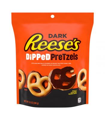 Reese's Dark Chocolate Dipped Pretzels - 8.5oz (240g) Chocolate, Bars & Treats Reese's