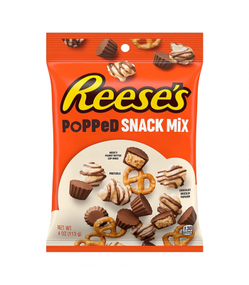 Reese's Popped Snack Mix 4oz (113g) Snacks and Chips Reese's