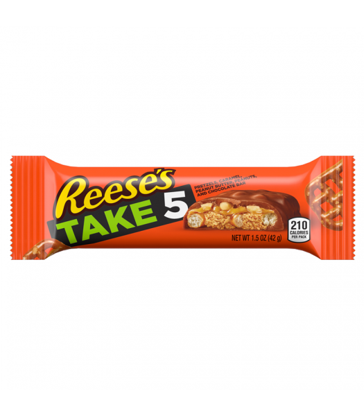 Reese's Take 5 Bar - 1.5oz (42g) Sweets and Candy Reese's
