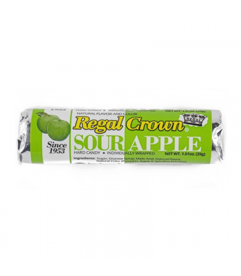 Regal Crown Sour Apple Roll 1.01oz Sweets and Candy