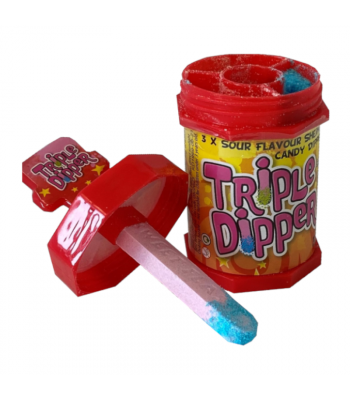 Candy Castle Crew Triple Dipper - 35g Sweets and Candy Rose Marketing