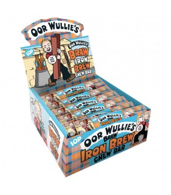 Oor Wullie's Braw Iron Brew Chew Bar 11g Sweets and Candy