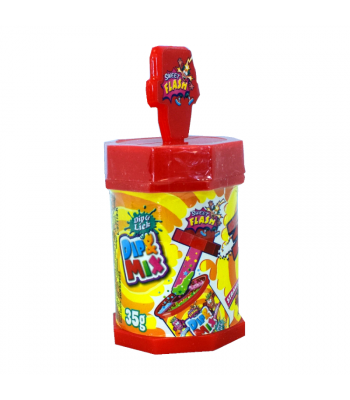 Dip & Mix 3 Flavours Powder - 35g Sweets and Candy Rose Marketing