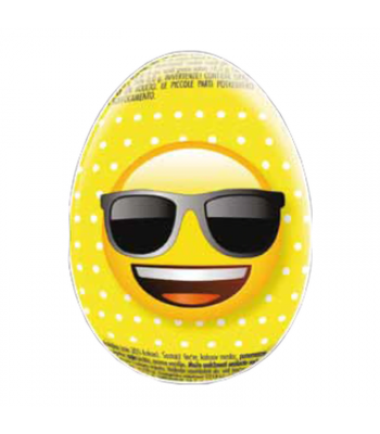 Emoji Chocolate Egg - 20g Sweets and Candy