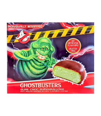 Ghostbusters Slime Chocolate Marshmallows 10-Pack - 130g Sweets and Candy Rose Marketing