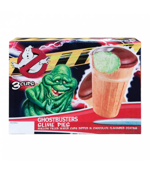 Ghostbusters Slime Pies 3-Pack Sweets and Candy Rose Marketing