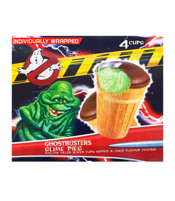 Ghostbusters Slime Pies 4-Pack - 90g Sweets and Candy