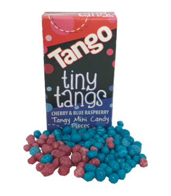 Tango Tiny Tangs Candy Pieces - 16g Sweets and Candy