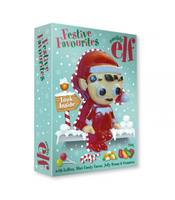 Naughty Elf Festive Favourites - 720g Sweets and Candy Rose Marketing