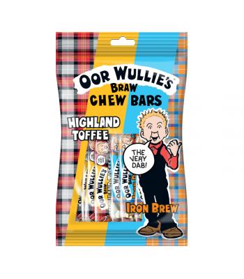 Oor Wullie Chew bar Mix - 150g Sweets and Candy