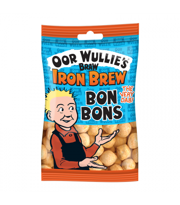 Oor Wullies Braw Iron Brew Bon Bons - 125g Sweets and Candy
