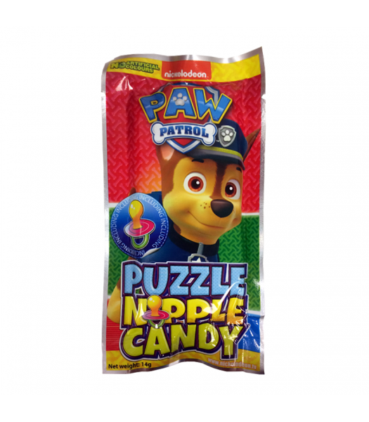 Paw Patrol Puzzle Candy 14g Sweets and Candy