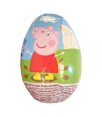 Peppa Pig Milk Chocolate Egg - 20g Sweets and Candy
