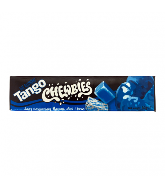Tango Chewbies Blue Raspberry 30g Sweets and Candy
