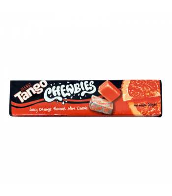 Tango Chewbies Orange 30g Sweets and Candy