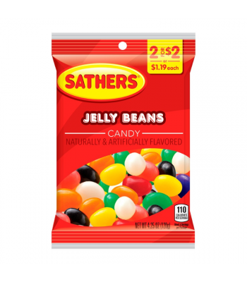 Sathers Jelly Beans - 4.25oz (120g)