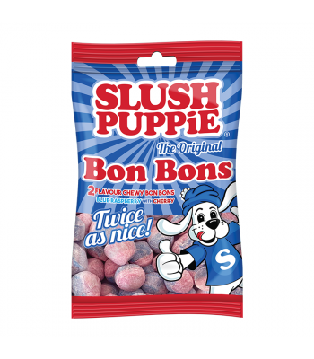 Slush Puppie Blue Raspberry & Cherry Bon Bons - 125g Sweets and Candy Slush Puppie