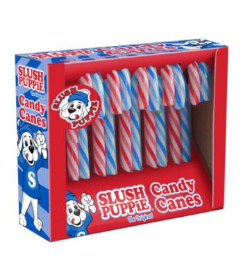 Slush Puppie Candy Canes 10pk - 100g
