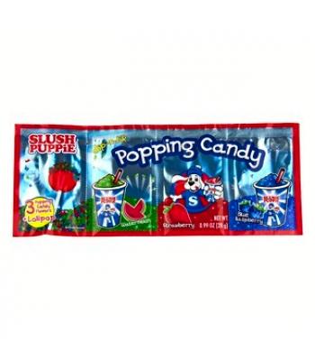 Slush Puppie Dip-n-Lik Popping Candy w/ Lollipop - 0.99oz (28g) Lollipops Slush Puppie