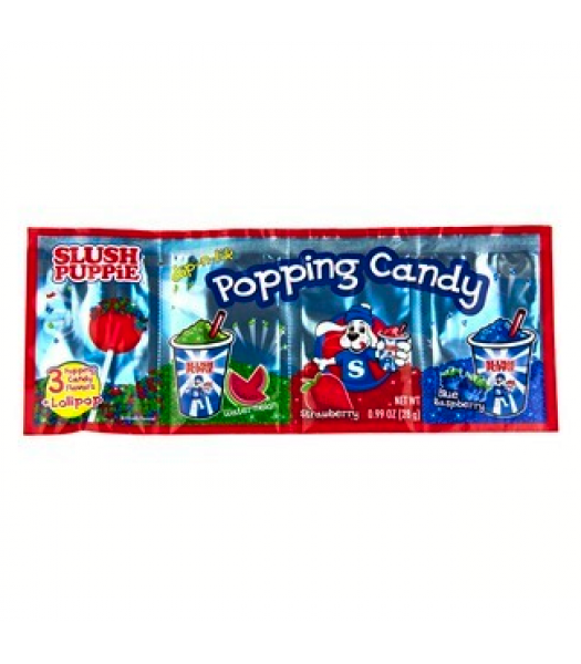 Slush Puppie Dip-n-Lik Popping Candy w/ Lollipop - 0.99oz (28g) Lollipops Slush Puppie