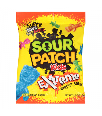 Sour Patch Kids Extreme Peg Bag 4oz (113g)