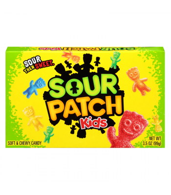 Sour Patch Kids Original 3.5oz Theatre Box (99g) Soft Candy Sour Patch