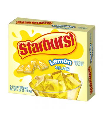 Starburst Lemon Gelatin - 3.89oz (110.4g) Jelly & Puddings Starburst