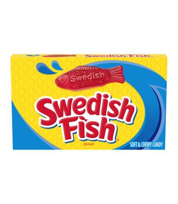 Swedish Fish Red Theatre Box - 3.1oz (88g) Sweets and Candy Swedish Fish