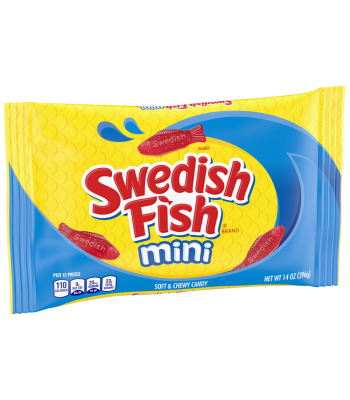 Swedish Fish Red Mini - 14oz (396g) Sweets and Candy Swedish Fish