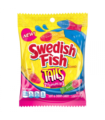 Swedish Fish Tails - 5oz (141g) Sweets and Candy Swedish Fish