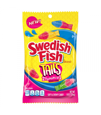 Swedish Fish Tails - 8oz (226g) Sweets and Candy Swedish Fish