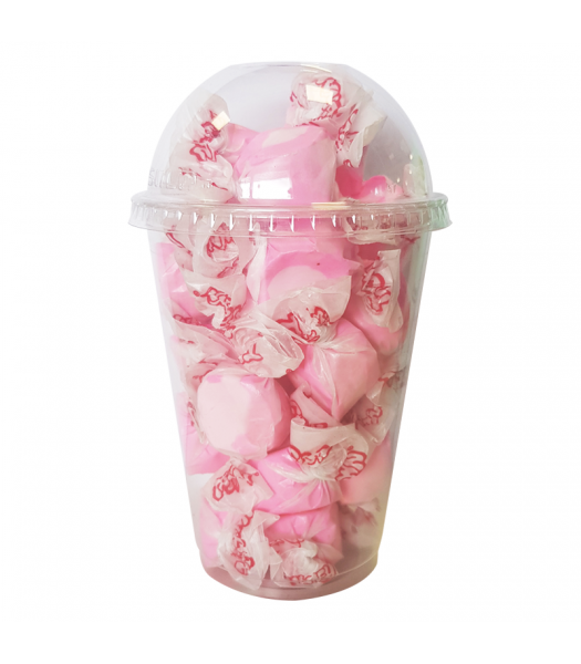 Taffy Town Bubble Gum Salt Water Taffy Cup (23pcs) (182g) Sweets and Candy Taffy Town