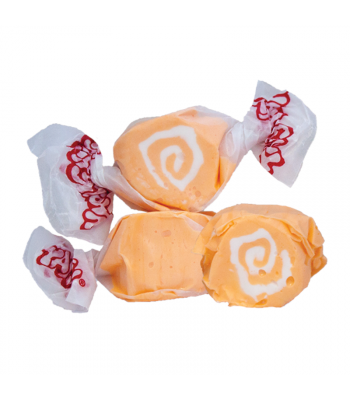 Taffy Town Orange Cream Salt Water Taffy Cup (23pcs) (182g) Sweets and Candy Taffy Town