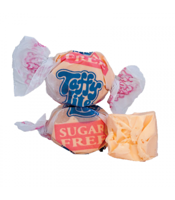 Taffy Town Orange Sugar Free Salt Water Taffy Cup (23pcs) (182g) Sweets and Candy Taffy Town