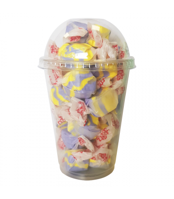 Taffy Town Raspberry Lemonade Salt Water Taffy Cup (23pcs) (182g) Sweets and Candy Taffy Town