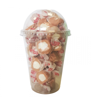 Taffy Town Root Beer Float Salt Water Taffy Cup (23pcs) (182g) Sweets and Candy Taffy Town