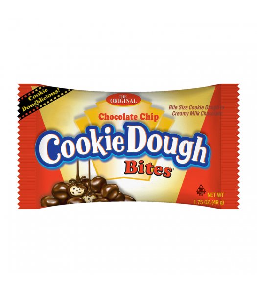 Cookie Dough Bites Chocolate Chip - 1.75oz (49g) Sweets and Candy Taste of Nature