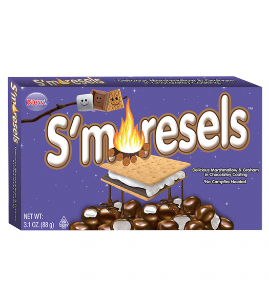 S'Moresels Cookie Dough Bites - 3.1oz (88g) Sweets and Candy Cookie Dough Bites