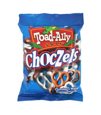 Toad-Ally - Choczels 3oz (85g) Snacks and Chips