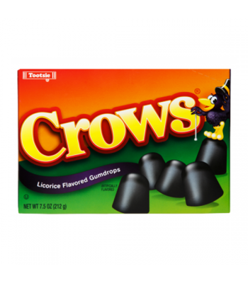 Tootsie Crows Theatre Box 6.5oz (184g) Soft Candy Tootsie