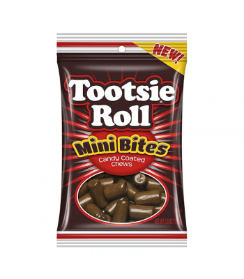 Tootsie Roll Mini Bites Peg Bag - 5.5oz (156g) Sweets and Candy Tootsie