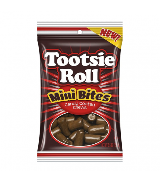Tootsie Roll Mini Bites Peg Bag - 5.5oz (156g) Sweets and Candy Tootsie