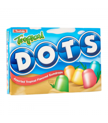 Tootsie Tropical Dots - 6.5oz (184g) Sweets and Candy Tootsie