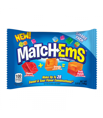 Topps Match-Ems - 3.8oz (108g) Sweets and Candy