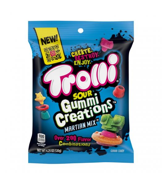 Trolli Sour Gummi Creations Martian Mix - 4.25oz (120g) Sweets and Candy Trolli